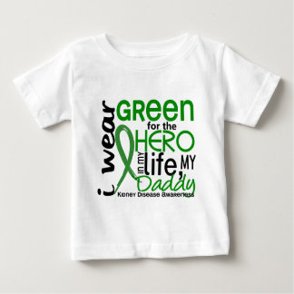 Green For Hero 2 Daddy Kidney Disease Baby T-Shirt