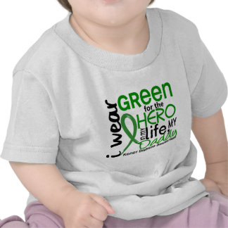 Green For Hero 2 Daddy Kidney Disease Tshirts
