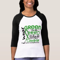 Green For Hero 2 Daughter Kidney Disease T-Shirt