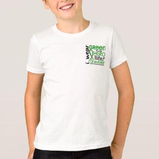 Green For Hero 2 Grandfather Kidney Disease T-Shirt