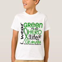 Green For Hero 2 Grandpa Kidney Disease T-Shirt