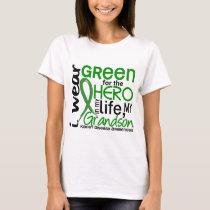 Green For Hero 2 Grandson Kidney Disease T-Shirt