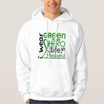 Green For Hero 2 Husband Kidney Disease Hoodie