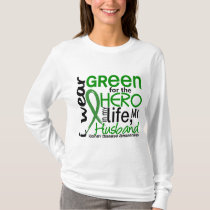 Green For Hero 2 Husband Kidney Disease T-Shirt