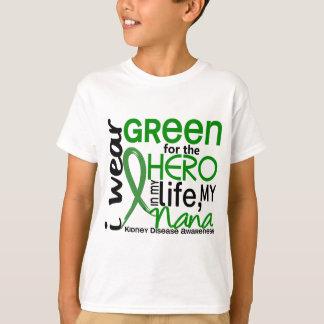 Green For Hero 2 Nana Kidney Disease T-Shirt