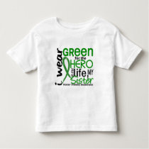 Green For Hero 2 Sister Kidney Disease Toddler T-shirt