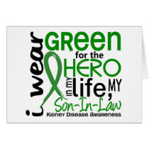 Green For Hero 2 Son-In-Law Kidney Disease