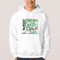 Green For Hero 2 Son Kidney Disease Hoodie
