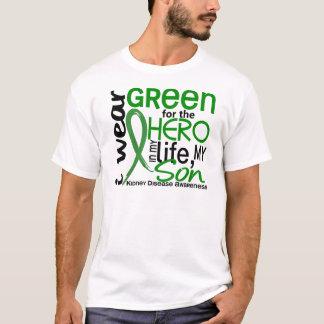 Green For Hero 2 Son Kidney Disease T-Shirt