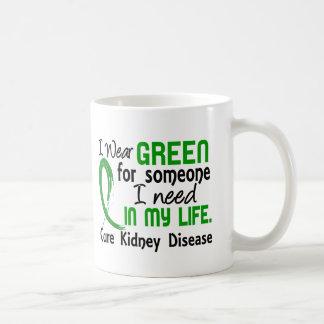 Green For Someone I Need Kidney Disease Classic White Coffee Mug