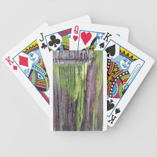 Green for the Holidays Bicycle Playing Cards