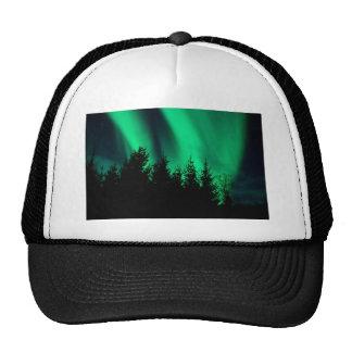 green forest fire trucker hat