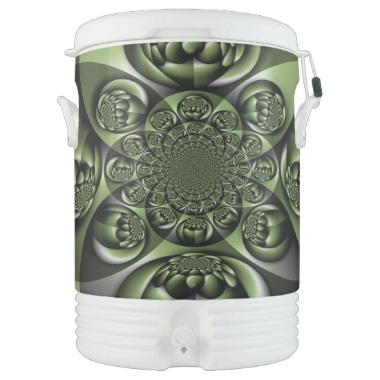 Green Forest Mini Spheres Beverage Cooler