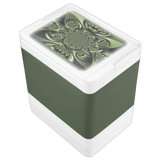 Green Forest Mini Spheres Cooler