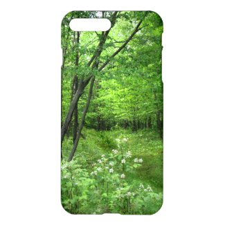 Green Forest Nature Woods Hike iPhone 7 Plus Case