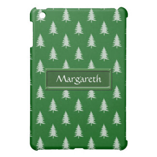 Green forest pattern case for the iPad mini