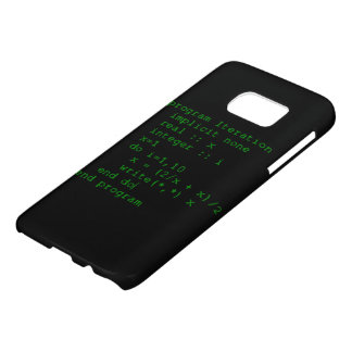 Green Fortran Code Samsung Galaxy S7 Case