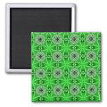 Green Four Leaf Clovers Refrigerator Magnets
