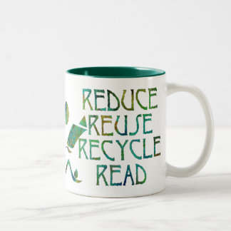 Green Four Rs Mug