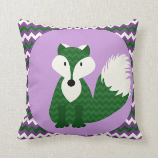 Animal Nursery Pillows : Forest Animal Nursery Pillows - Decorative & Throw Pillows Zazzle