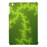 Green Fractal Case For The iPad Mini
