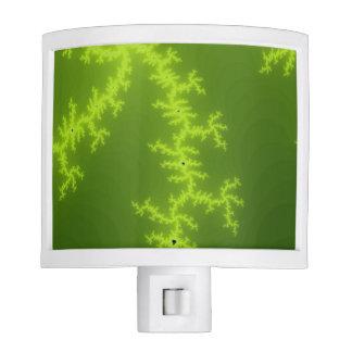 Green Fractal Night Lite