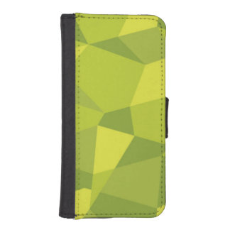 Green fractal Cover Portfolio for iPhone 5/5s iPhone 5 Wallet