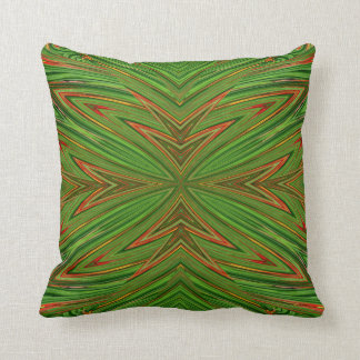 Green Fractal MoJo Pillow