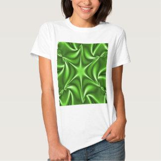 Green Fractal Starflower Shirt