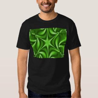 Green Fractal Starflower T-shirt