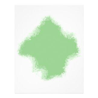 Green Frame Flyer Background