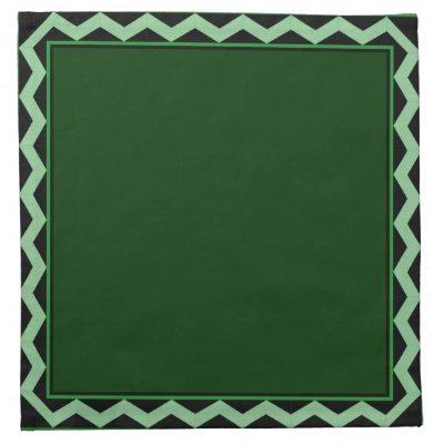 Green Frames Cloth Napkins