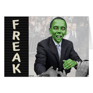 Green Freak Card