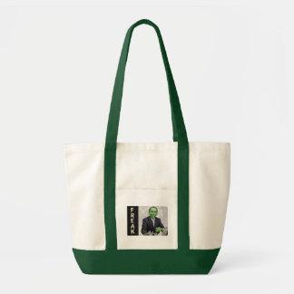 Green Freak Tote Bag