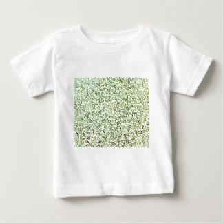 Green Freeform Geometrics T-shirts