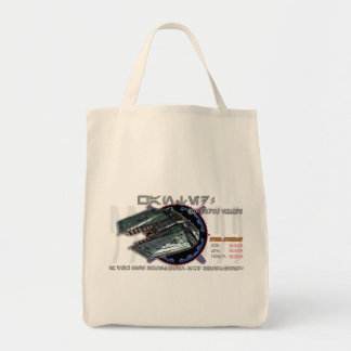 Green Freighter grocery bag