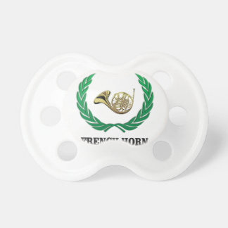 green french horn pacifier
