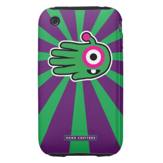 Green Friendly Alien Baby Tooth iPhone 3 Tough Covers