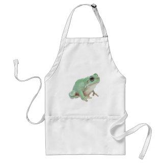 Green Frog Adult Apron