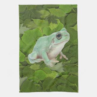 Green Frog American MoJo Kitchen Towel