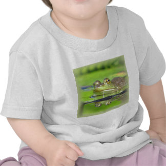 Green Frog Baby T-Shirt