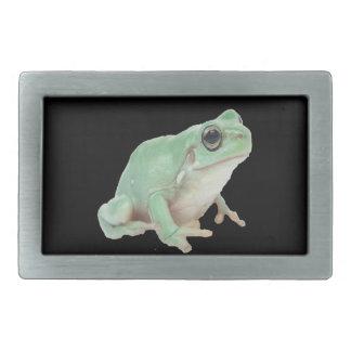 Green Frog Belt Buckles