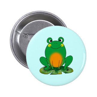 Green frog buttons