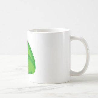 Green Frog Classic White Coffee Mug