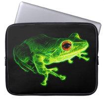 Green Frog Computer Sleeve