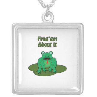 Green Frog - Frog Get About It Necklaces