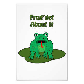 Green Frog - Frog Get About It Photograph