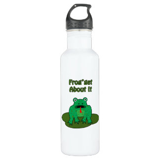 Green Frog - Frog Get About It Water Bottle