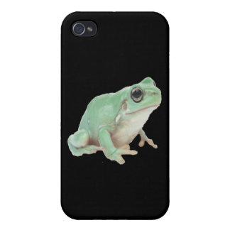 Green Frog iPhone 4/4S Cases