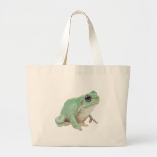Green Frog Jumbo Tote Bag